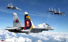 Venezuelan Air Force Sukhoi on a mission. Military Jets, Military Weapons, Military Aircraft, Sukhoi Su 30, Fighter Aircraft, Fighter Jets, Space Probe, Nose Art, Aviation Art