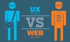 En esta infografía podemos ver algunas diferencias básicas entre un diseñador UX y un diseñador web. Explore more infographics like this one on the web's largest information design community - Visu...