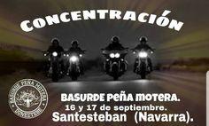 CONCENTRACION MOTERA BASURDE, en Santesteban, Navarra