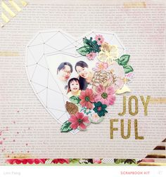 Joyful by Lilinfang at @studio_calico