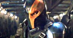 Deathstroke Revealed by Ben Affleck in Justice League Set Video -- Ben Affleck sends out a cryptic video from the set of Justice League, revealing our first look at Deathstroke, but who is playing him? -- http://movieweb.com/justice-league-movie-deathstroke-video-ben-affleck/