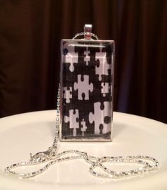 Autism Awareness Puzzle Piece Necklace-  from Noonday Sun Creations