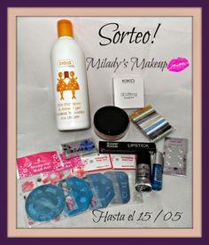 Sorteo!!!   **Milady's Make Up**