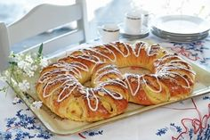 no - Best Pins Baking Recipes, Cake Recipes, Norwegian Food, Norwegian Recipes, Pause Café, Danish Food, Recipe Boards, Bread And Pastries, Coffee Cake