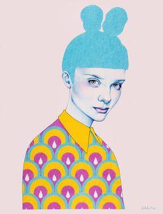 Natalie Foss est une illustratrice norvégienne