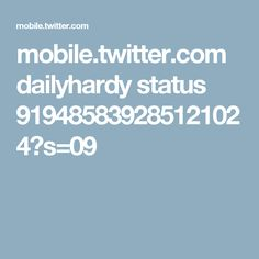 mobile.twitter.com dailyhardy status 919485839285121024?s=09