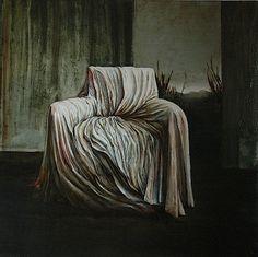 """""""Tutto Il Tempo Che Mi Rimane,"""" Nicola Andrea Frignani, 2006, oil on wood, 125x120 - Milano"""