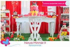 A Minnie da Marina - a festa pronta