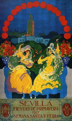 Sevilla. Fiestas de Primavera, 1917