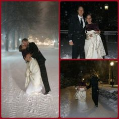 Meaghan Flaherty Dupuis'02, '07 is a proud double eagle who met John Dupuis while doing her masters at BC. While he isn't a BC alum, she has been able to convert him to a SuperFan over the last eight years! They got married on New Year's Eve in 2008 in the middle of a snow storm but made sure they stopped at BC to take pictures in front of Bapst & on Linden Lane. Meaghan is glad that John is able to share her love for Boston College and that they can pass it along to their daughter Shea.