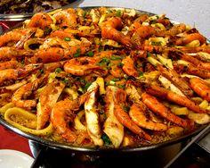 O buffet do Café Journal para o segundo domingo de maio inclui paella valenciana (Foto: Divulgação)