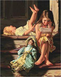 Bob Byerley ... art of children !