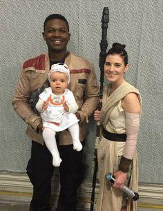 Star Wars awakens family costume baby bb8
