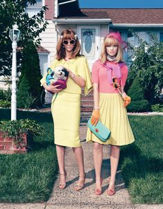 I want to wear 60's pastels but not in the suburbs of the midwest.
