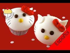 Cupcakes de Hello Kitty - video tutorial de Cupcake Addiction