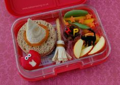 Harry Potter themed bento lunch and food ideas for a Harry Potter party from Eats Amazing UK