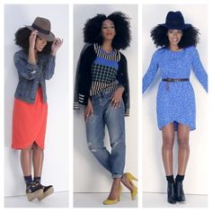 Fashion Hot Spot, Madewell! The store is inspiring! Solange is a great face for the product.