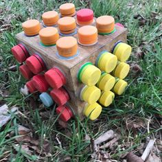 "You've seen bottle top geocaches. This takes it to a new level! A cool variation on the ""bunch of micros in a container but only one contains the log"" idea."