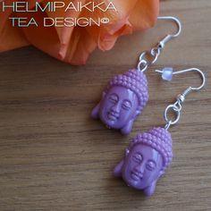 Buddha korvikset laventeli