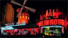 Como excursión opcional tenemos la visita a uno de los espectáculos del Moulin Rouge.