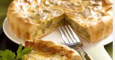 Aprende a preparar Quiche de alcachofas y gruyer con las recetas de Nestle Cocina. Elabórala en casa con nuestro sencillo paso a paso. ¡Delicioso! #NestleCocina