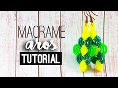 Aros pinterest ♥︎ macramé | Tutorial | How to - YouTube
