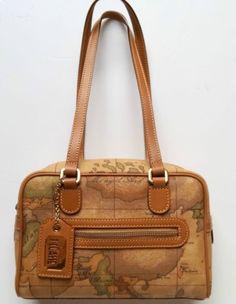 d3bc326dd6 handbags borsa bauletto ALVIERO MARTINI classic fantasy tonalità marrone /  brown