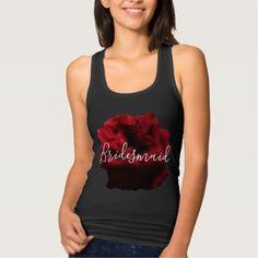 #Bridemaid Tank Vest Hen Party Bridal Shower - customized designs custom gift ideas