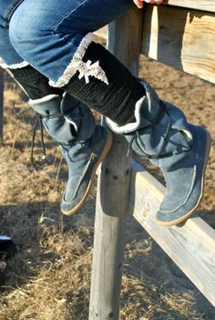 Lace Boot Socks  over the knee socks Boot socks by TheSimplePark, $28.00