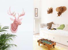 Trophées de chasse en puzzle 3D Puzzles 3d, Home Decor, Home Decoration, Decoration Home, Room Decor, Home Interior Design, Interior Design