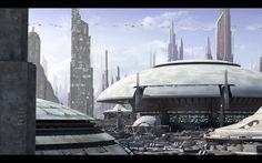 Coruscant landscape