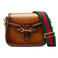 When It Comes to Bags, Brown is the New Black  #InStyle #Gucci
