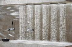 Luxury Life Design: Amazing Luxury Horizontal Shower [ Wainscotingamerica.com ] #luxury #wainscoting #design