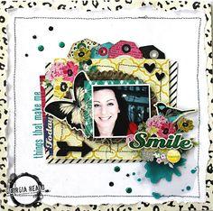 Things That Make Me Smile - Scrapbook.com by Georgia Heald