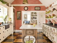 Pink: Sunny Salmon  - 30 Bright, Bold and Colorful Kitchens on HGTV