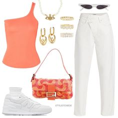 Trendy Outfits, Summer Outfits, Cute Outfits, Fashion Outfits, Womens Fashion, Cute Vacation Outfits, Fendi Purses, Streetwear Fashion, Street Wear