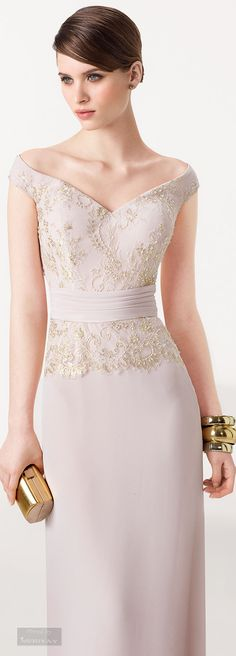 Aire Barcelona: Wedding dresses and evening gowns Lovely Dresses, Beautiful Gowns, Elegant Dresses, Bridesmaid Dresses, Prom Dresses, Formal Dresses, Bride Dresses, Dress Outfits, Fashion Dresses