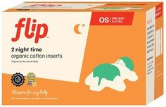#manythings  #Flip Organic Cotton Night Time Inserts Diapers For Any Baby. Real life demands flexibility. With the Flip hybrid diaper system, parents can choose ...