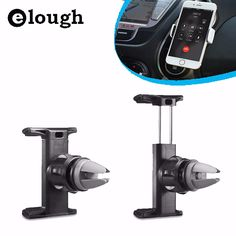 Elough Car Holder Stand GPS For iPhone 6 6s Air Vent Mount Car Mobile Phone Holder for Xiaomi Samsung S5 S6 S7 Suporte Celular