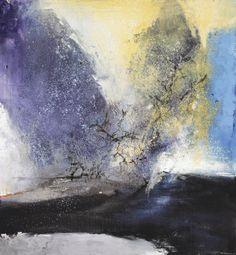Zao Wou-Ki (Zhao Wuji) 15.2.93 oil on canvas abstract