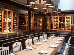 Private Dining  Del Posto  L'apicio Private Dining  Pinterest Classy Private Dining Room Nyc Decorating Design