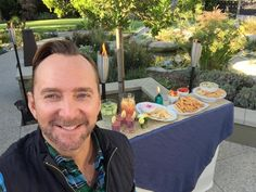 A behind-the-scenes shot from my super-fun day working with my friends at @tikibrand !  Find my tips for creating a fabulous outdoor party on their blog, including easy appetizers and a HOT summer party playlist. Visit blog.tikibrand.com for more info!