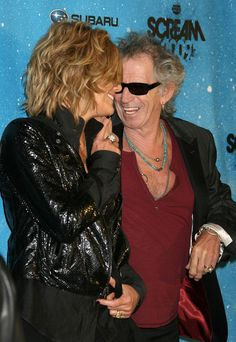 Keith Richards and Patti Hansen Photos Photos - Guests arrive to the Spike TV's 2009 Scream Awards at the Greek Theatre in Los Angeles. - Guests Arriving At Spike TV's 2009 Scream Awards