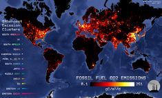 Map Info & Chart : Fossil Fuel emissions in 2017 Fossil Fuel emissions in 2017 By At infographic.tv we provide handpicked Greenhouse Effect, Greenhouse Gases, Scale Map, North Europe, Global Economy, Global Warming, Under The Sea, Climate Change