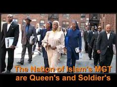 The ladies of the Nation of Islam ( MGT) are queens and warriors. Yes th...