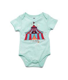 Body manga corta en tejido de punto para bebe niñopra en la tienda On Line de OFFCORSS - OFFCORSS