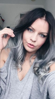 medium bob haircut awesome 45 silver ombre hair grey ombre hair 1309 | 747e366311be12e4299e3652e4af20ef lob haircut long bobs