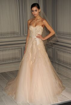 I love this dress! Such a pretty silhouette and the blush color is fantastic!