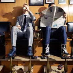 Designer Sneakers: Why Men Are Ditching Dress Shoes for Them - WSJ