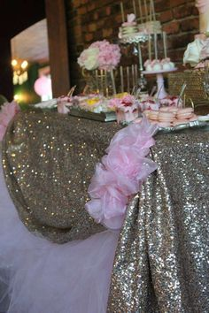 Glam Baby Shower Party Ideas | Photo 6 of 8 | Catch My Party